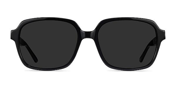 Marlon Black Acetate Sunglass Frames