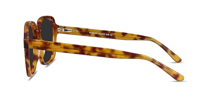 Marlon Tortoise Acetate Sunglass Frames from EyeBuyDirect