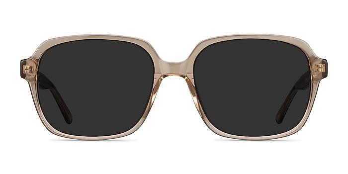 Marlon Brown Acetate Sunglass Frames from EyeBuyDirect