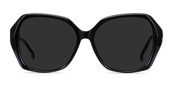 Isabella Black Acetate Sunglass Frames