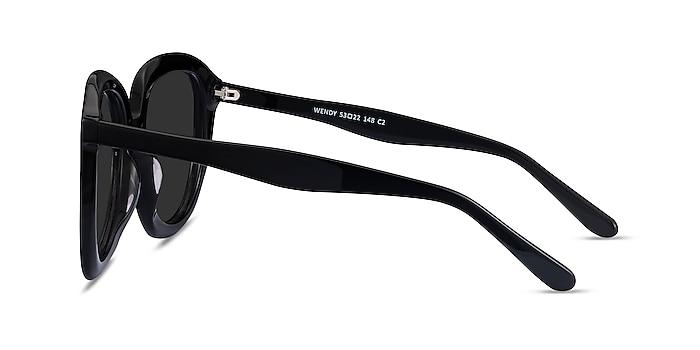 Wendy Black Acetate Sunglass Frames from EyeBuyDirect