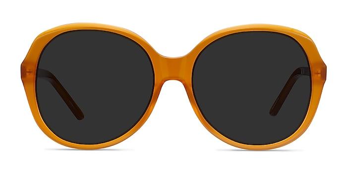 Sheila Mustard Acetate Sunglass Frames from EyeBuyDirect