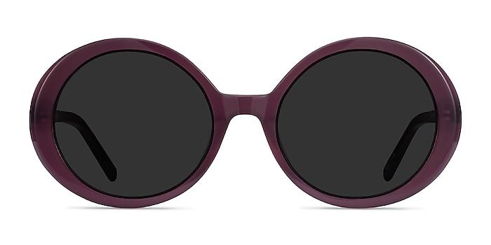 Tina Purple Acetate Sunglass Frames from EyeBuyDirect