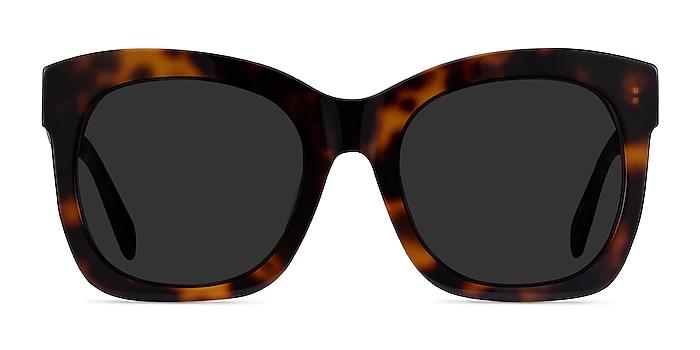 Claudette Tortoise Acetate Sunglass Frames from EyeBuyDirect