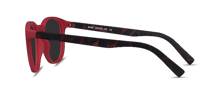 Dune Crimson & Warm Tortoise Plastique Soleil de Lunette de vue d'EyeBuyDirect