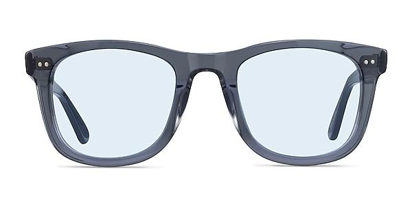 Nevada Clear Gray Acetate Sunglass Frames