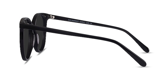 Sun Bardot Black Acetate Sunglass Frames from EyeBuyDirect
