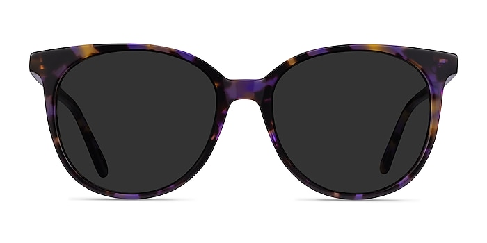 Sun Bardot Floral Tortoise Acetate Sunglass Frames from EyeBuyDirect