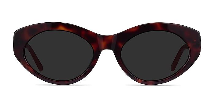 Fabulous Tortoise & Red Acetate Sunglass Frames from EyeBuyDirect