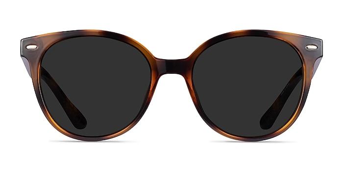 Domino Tortoise Plastic Sunglass Frames from EyeBuyDirect