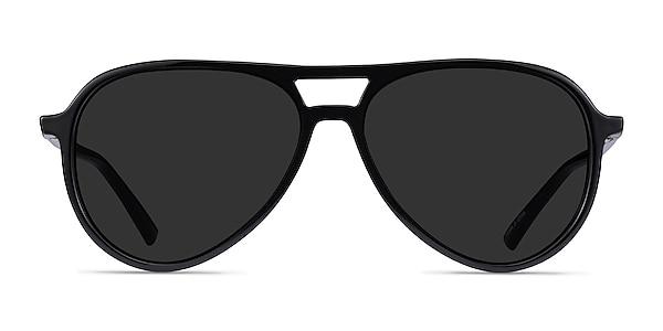 Volcano Black Plastic Sunglass Frames