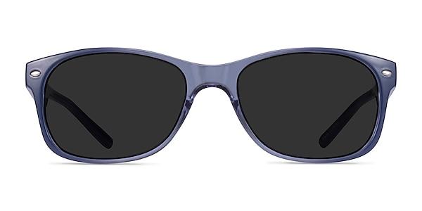 Jump Blue Plastic Sunglass Frames