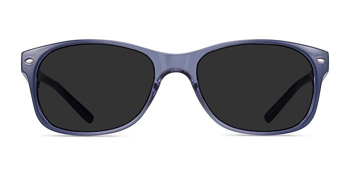 Jump Bleu Plastique Soleil de Lunette de vue d'EyeBuyDirect