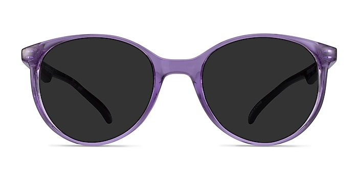 Talent Clear Purple Floral Plastic Sunglass Frames from EyeBuyDirect