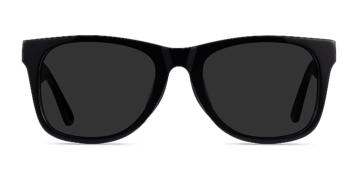 Ristretto Black Acetate Sunglass Frames from EyeBuyDirect