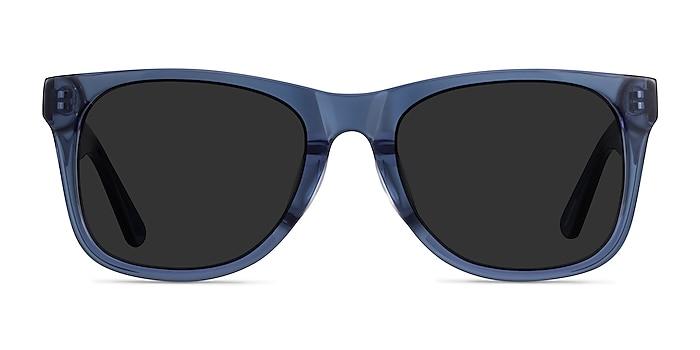 Ristretto Clear Blue Acétate Soleil de Lunette de vue d'EyeBuyDirect