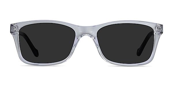 Tennis Clear Black Acetate Sunglass Frames
