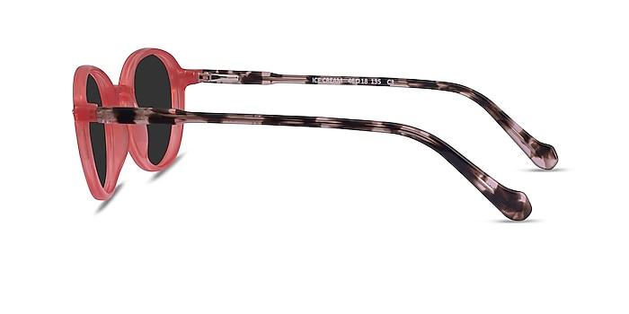 Ice Cream Coral Tortoise Acetate Sunglass Frames from EyeBuyDirect