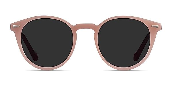 Fun Beige Purple Acetate Sunglass Frames