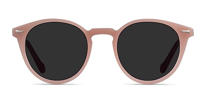 Fun Beige Purple Acetate Sunglass Frames from EyeBuyDirect