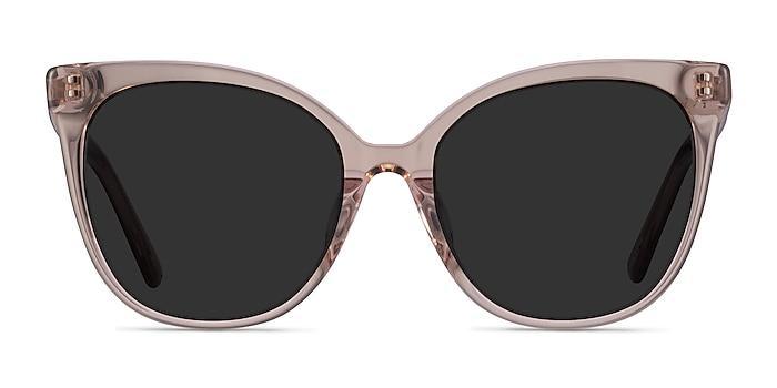 Gelato Champagne Acetate Sunglass Frames from EyeBuyDirect