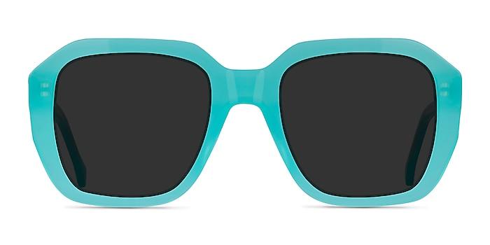 Azalea Turquoise Blue Acétate Soleil de Lunette de vue d'EyeBuyDirect