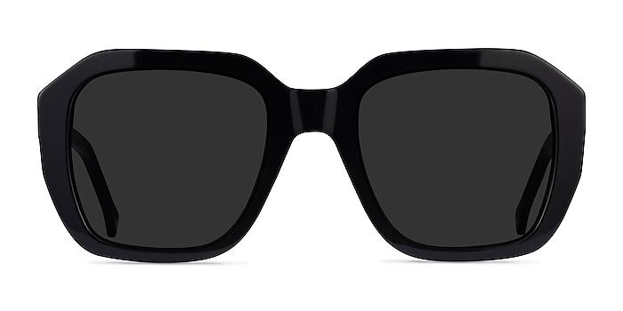 Azalea Black Acetate Sunglass Frames from EyeBuyDirect