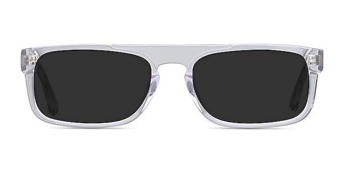 Grayton Clear Acetate Sunglass Frames from EyeBuyDirect