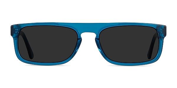 Grayton Clear Blue Acetate Sunglass Frames