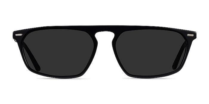 Hernando Black Acetate Sunglass Frames from EyeBuyDirect