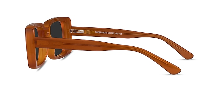 Impression Yellow Acetate Sunglass Frames from EyeBuyDirect