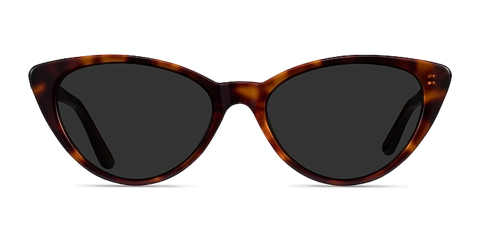 Jolie Brown Tortoise Acetate Sunglass Frames from EyeBuyDirect