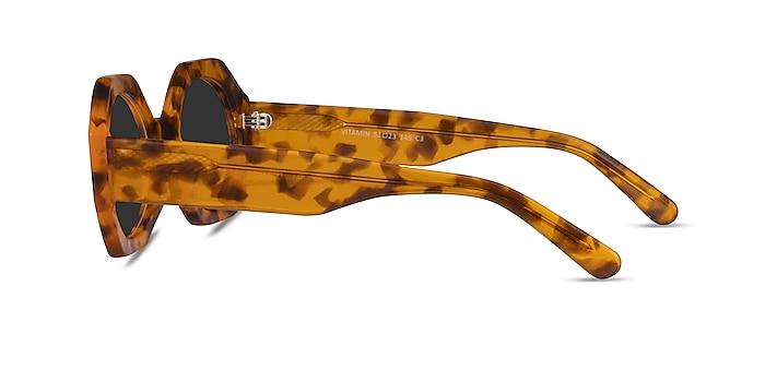 Vitamin Warm Tortoise Acetate Sunglass Frames from EyeBuyDirect