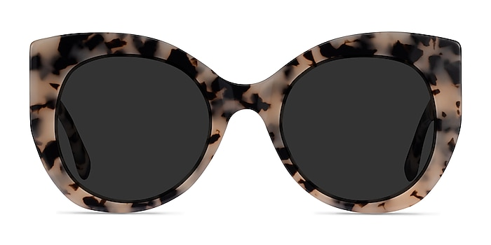 June Ivory Tortoise Acetate Sunglass Frames from EyeBuyDirect