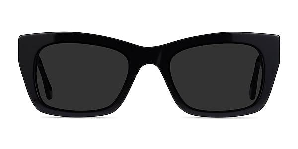 Because Black Acetate Sunglass Frames