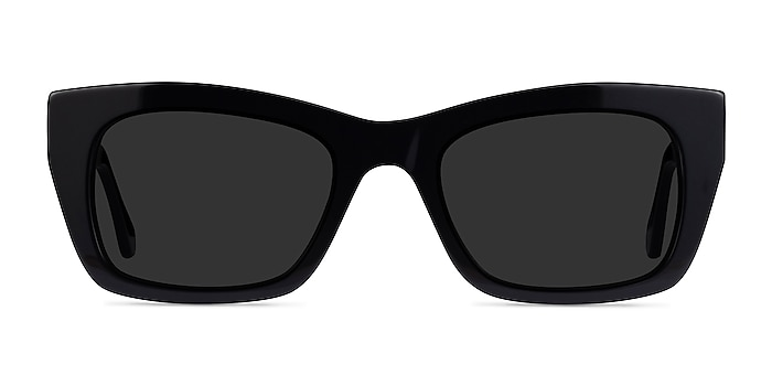 Because Black Acetate Sunglass Frames from EyeBuyDirect