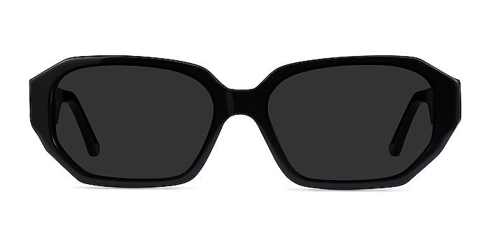 Claudel Black Acetate Sunglass Frames from EyeBuyDirect
