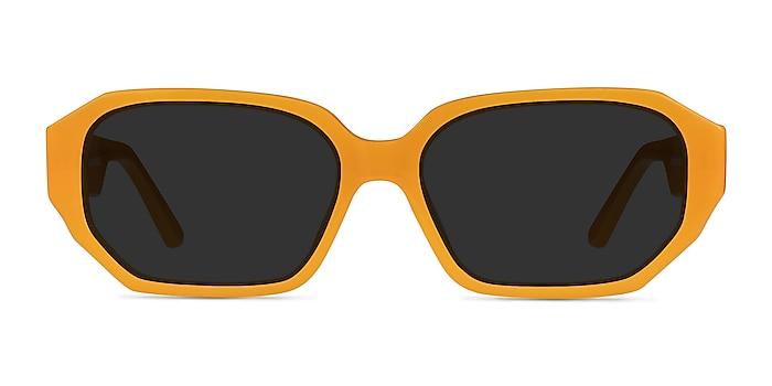 Claudel Orange Acetate Sunglass Frames from EyeBuyDirect