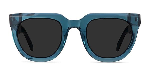 Dali Teal Acetate Sunglass Frames