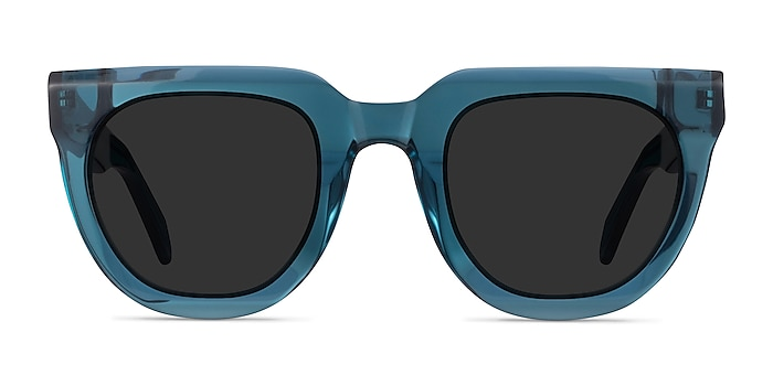 Dali Teal Acetate Sunglass Frames from EyeBuyDirect