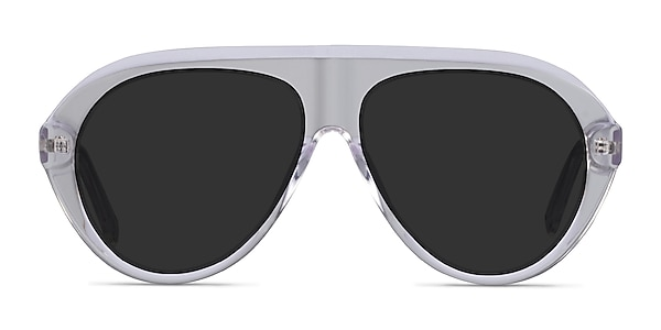 Map Clear Acetate Sunglass Frames