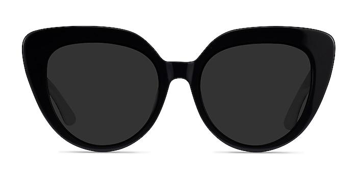Santa Monica Black Acetate Sunglass Frames from EyeBuyDirect