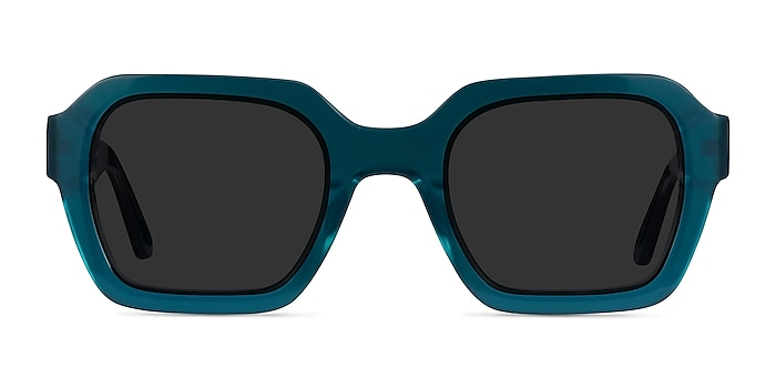 Somerset Teal Acetate Sunglass Frames from EyeBuyDirect