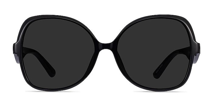 Paradise Black Acetate Sunglass Frames from EyeBuyDirect