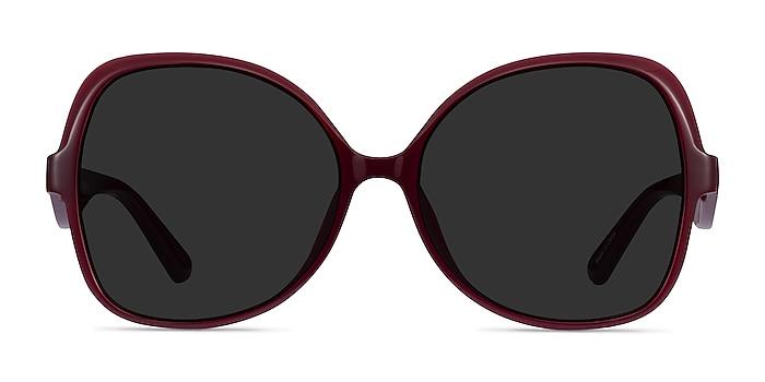 Paradise Burgundy Acetate Sunglass Frames from EyeBuyDirect