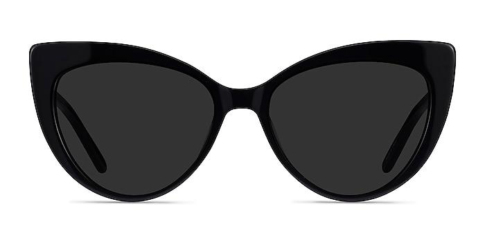 Holiday Black Acetate Sunglass Frames from EyeBuyDirect