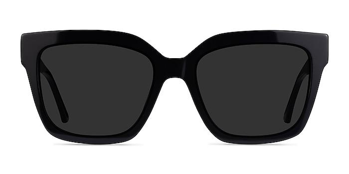 Itinerary Black Acetate Sunglass Frames from EyeBuyDirect
