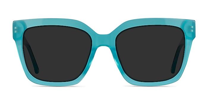 Itinerary Turquoise Acetate Sunglass Frames from EyeBuyDirect