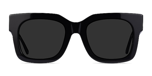 Monterey Black Acetate Sunglass Frames