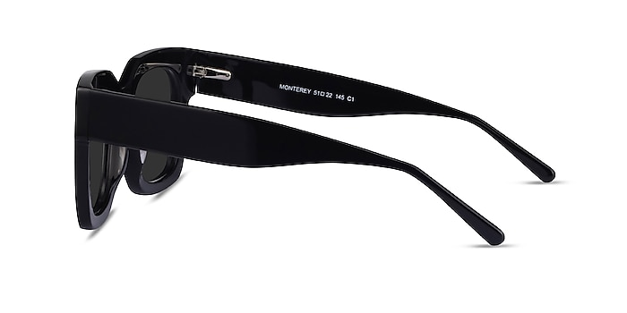 Monterey Black Acetate Sunglass Frames from EyeBuyDirect